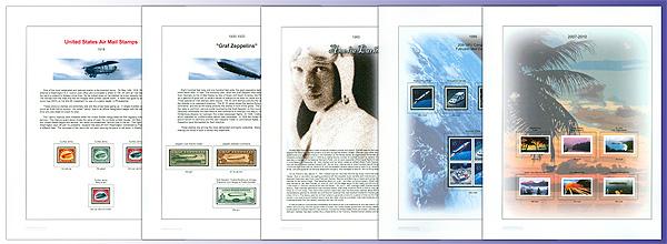 US Full Color Stamp Album BOB pg 3